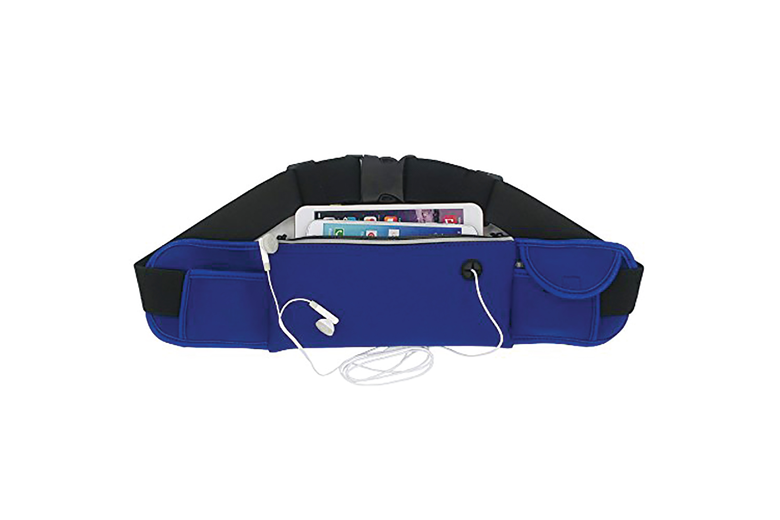 E-station Gateway Waist Belt Zip Pouch Bag