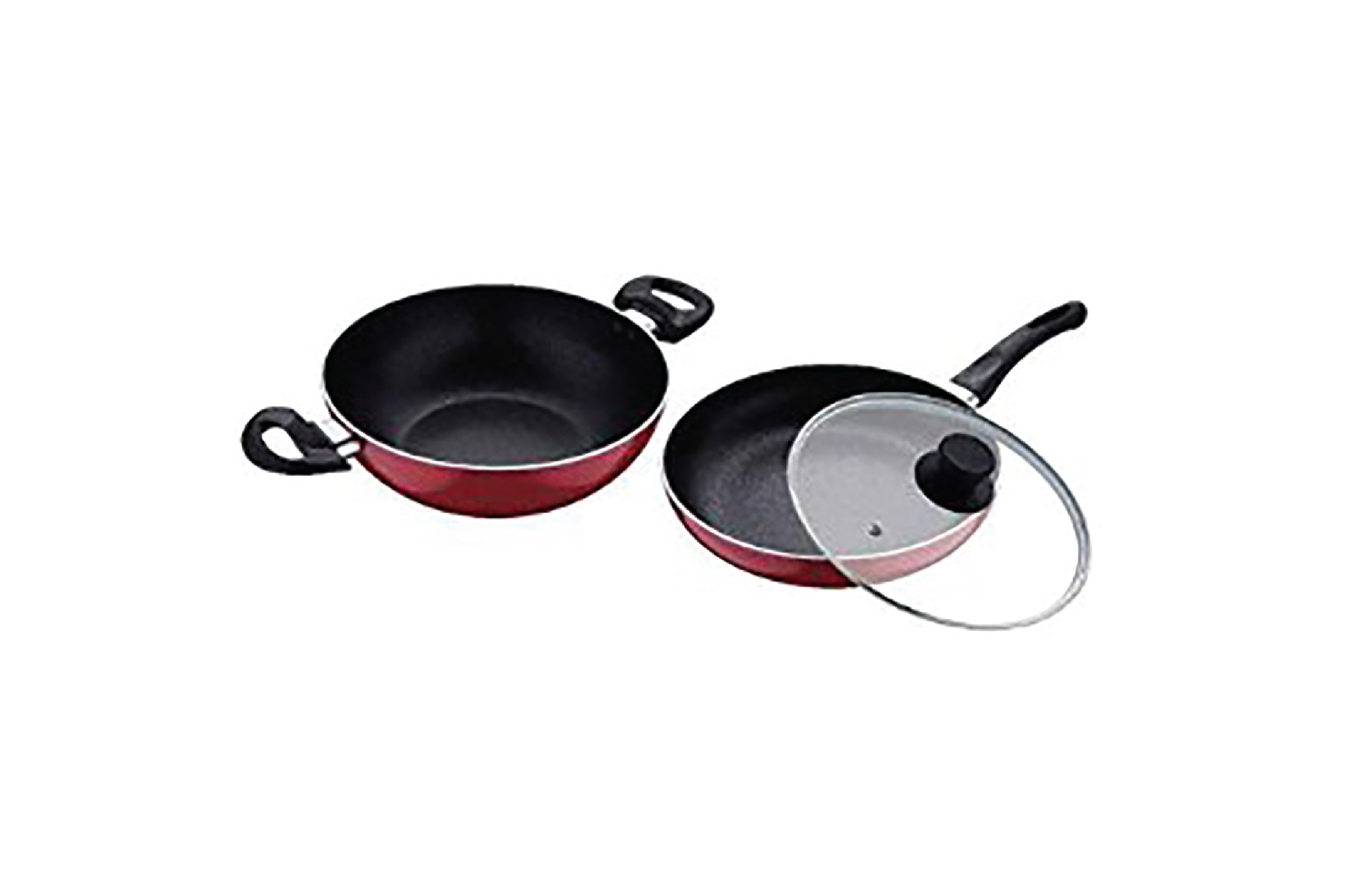 Bergner-Renger Press Aluminum Non-Stick 3 PCs Cookware Set RB 1481