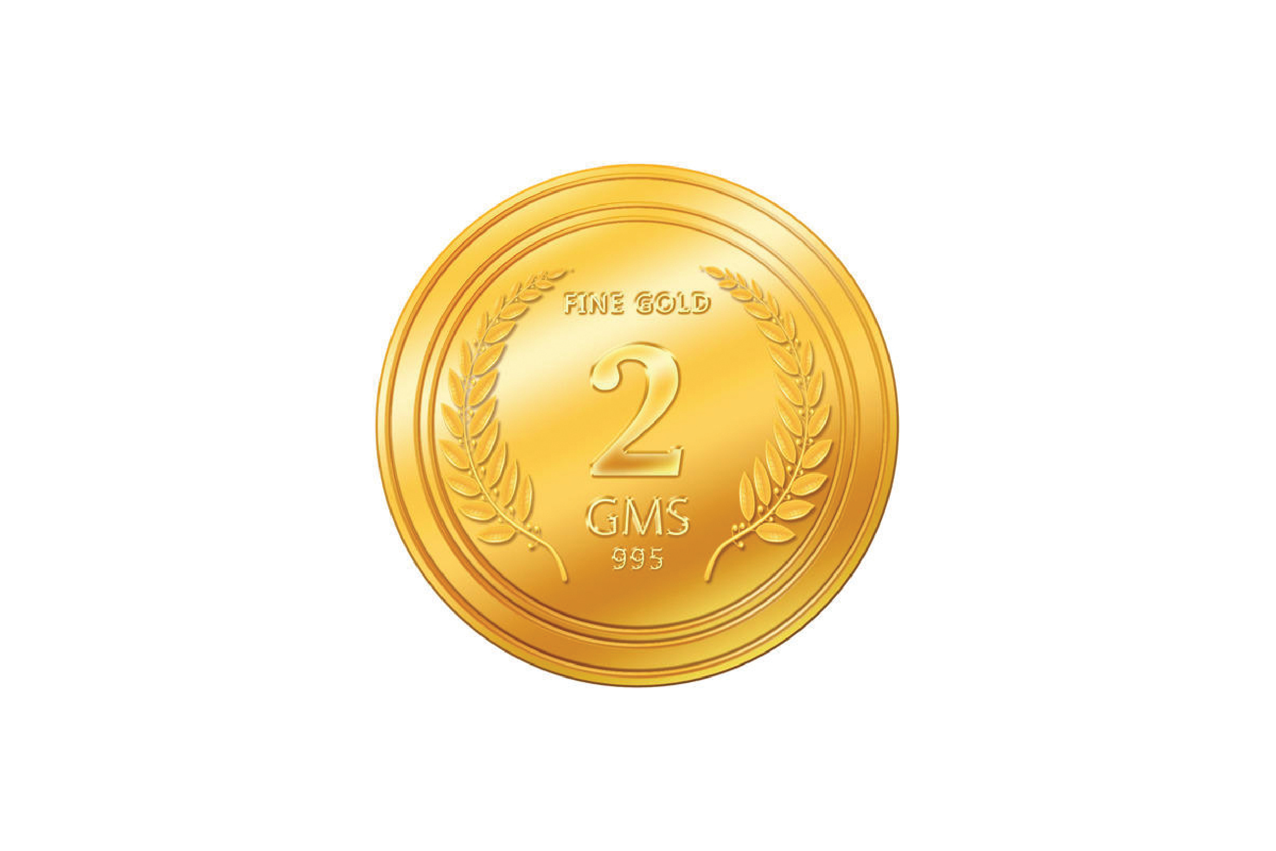 Gold Coin - 2 gm