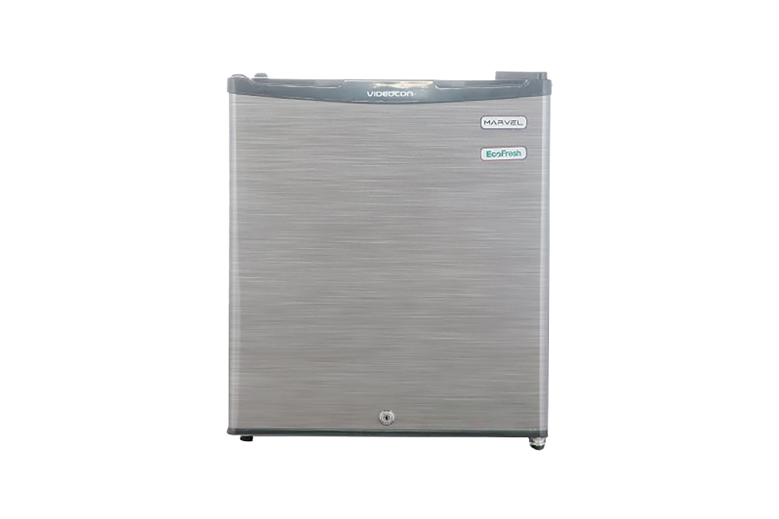 Videocon REF VC060PSH-FDW Single Door Fridge (47 Ltrs, Silver Hairline)
