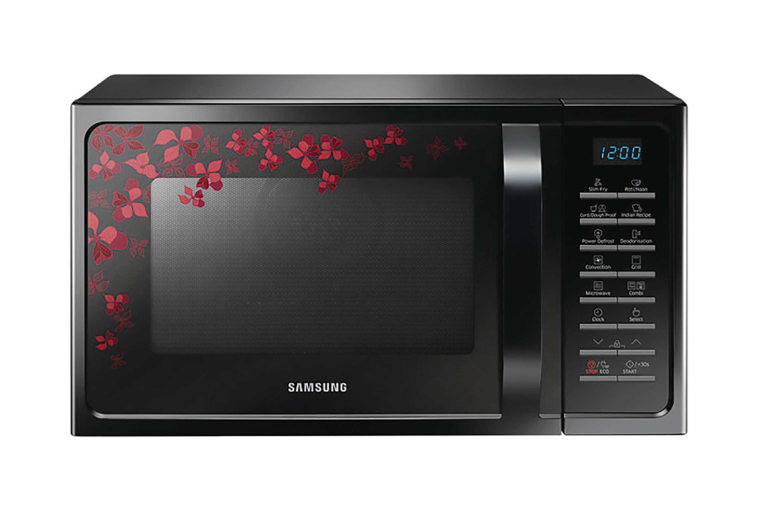 Samsung 28 LTR MC28H5025VB Convection Microwave Oven